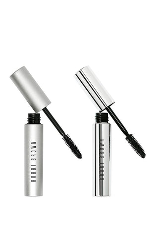 Bobbi Brown Day to Night Lashes Smokey Eye Mascara & No Smudge Waterproof Mascara Duo (Limited Edition)