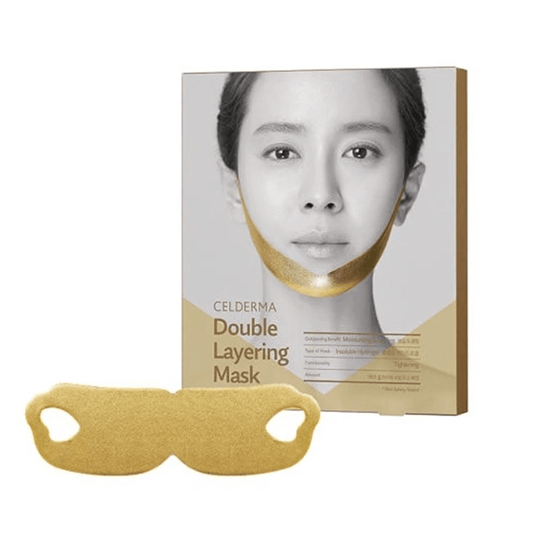 CELDERMA Double Layering Facial Mask [Star Gold] - eCosmeticWorld