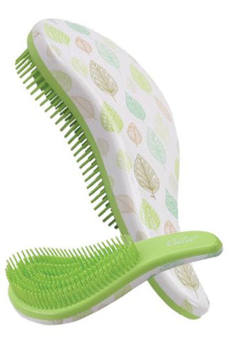 CALA TANGLE FREE HAIR BRUSH GREEN LEAF