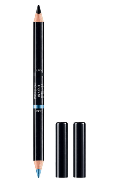 Diorshow In & Out Eyeliner Waterproof 001 Blue / Black- Limited Edition - eCosmeticWorld