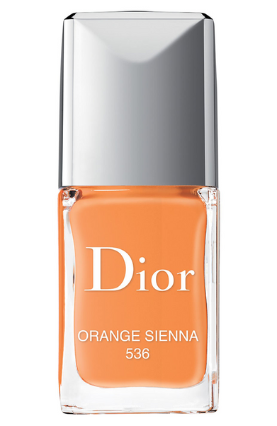 Dior Vernis Couture Colour Gel Shine and Long Wear Nail Lacque - Limited Edition - 536 Orange Sienna