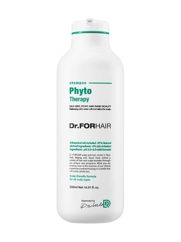 Dr.FORHAIR Phyto Therapy Shampoo 500ml / 16.91 fl. oz (New Version) - eCosmeticWorld