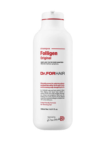 Dr.FORHAIR Folligen Shampoo Original 500ml / 16.91 fl. oz (New Version) - eCosmeticWorld