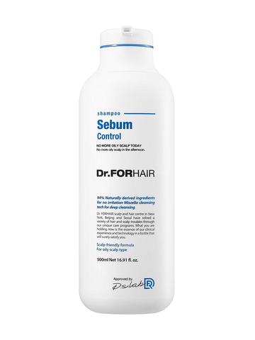 Dr.FORHAIR Sebum Control Shampoo 500ml / 16.91 fl. oz (New Version) - eCosmeticWorld