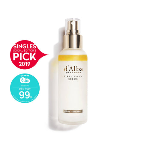 d'Alba White Truffle First Spray Serum - eCosmeticWorld