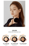 DRESKIN Silk Pact Balm Celebrity Portrait Cushion SPF 50+ / PA+++ (All-in-one: Foundation, Eye Corrector, Fixing Balm) - eCosmeticWorld