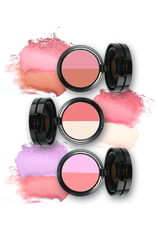 DRESKIN Twosome Faker Mix-match duo of Shading + Blush