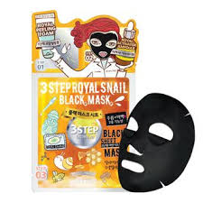 Dewytree 3 STEP ROYAL SNAIL BLACK MASK