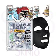 Dewytree 3 STEP VITA CAPSULE BLACK MASK