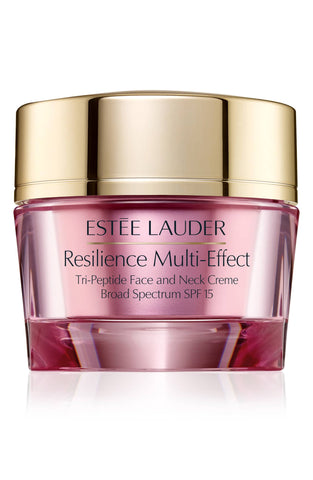 Estee Lauder Resilience Multi-Effect Tri-Peptide Face and Neck Creme SPF 15 (for Dry Skin), 1.7 oz - eCosmeticWorld