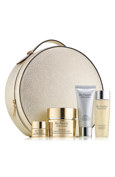 Estee Lauder Re-Nutriv The Secret of Infinite Beauty Ultimate Lift Regenerating Youth Collection for Face, 5-Pc. Set. (A $475.00 Value)
