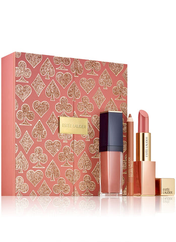 Estee Lauder High Roller Nude Lips Set (A $78 Value)