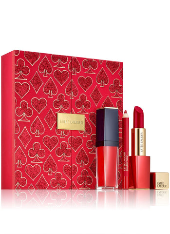 Estee Lauder Lady Luck Red Lips Set (A $78 Value)