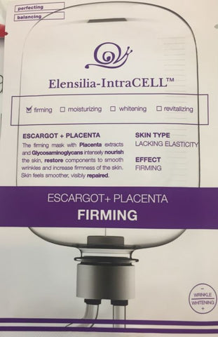 ELENSILIA INTRACELL ESCARGOT PLACENTA FIRMING MASK
