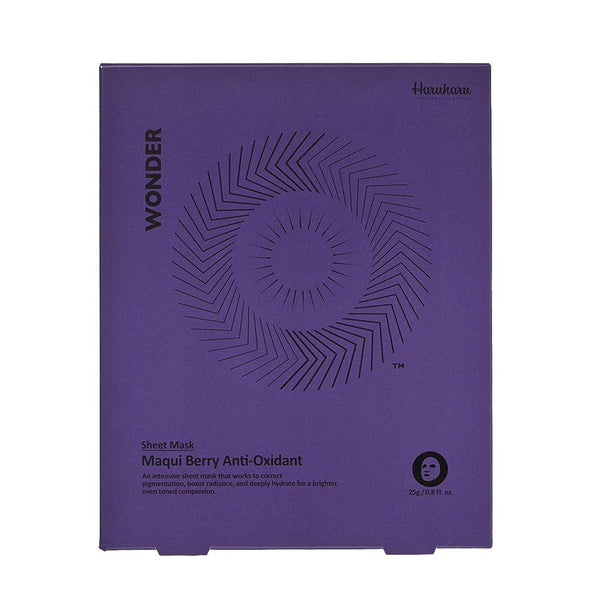 Haruharu WONDER Maqui Berry Antioxidant Mask - eCosmeticWorld