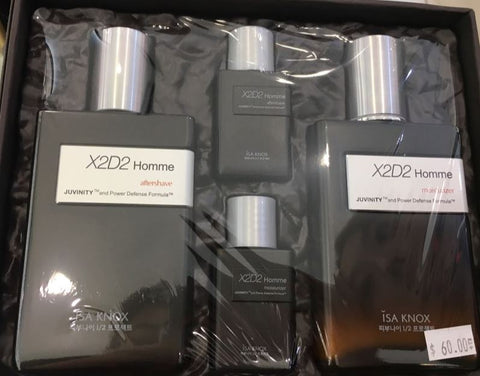 ISA KNOX X2D2 HOMME 2PC SET