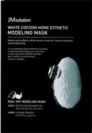 JM SOLUTION WHITE COCOON HOME ESTHETIC MODELING MASK