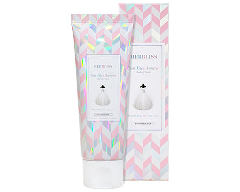 MERBLISS TWO FACE AURORA PEEL-OFF MASK