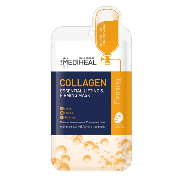 MEDIHEAL Collagen Essential Lifting & Firming Mask - eCosmeticWorld