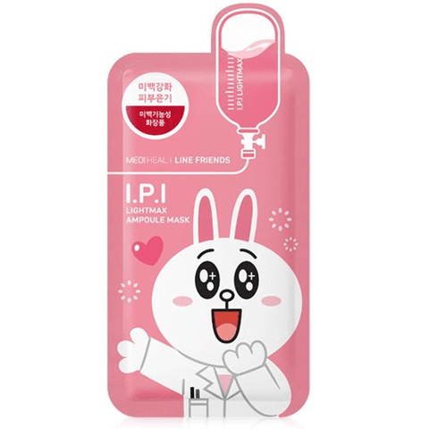 MEDIHEAL LINE FRIENDS I.P.I Lightmax Ampoule Mask - eCosmeticWorld