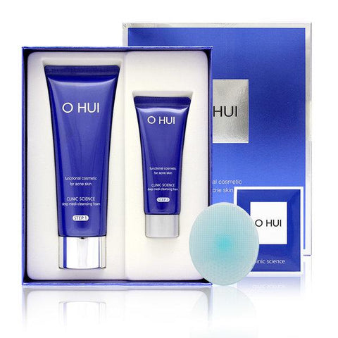 O HUI Clinic Science Deep Medi Cleansing Foam Set - eCosmeticWorld