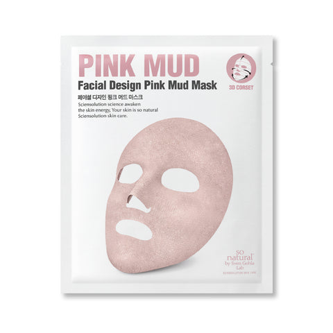 SO NATURAL FACIAL DESIGN PINK MUD MASK