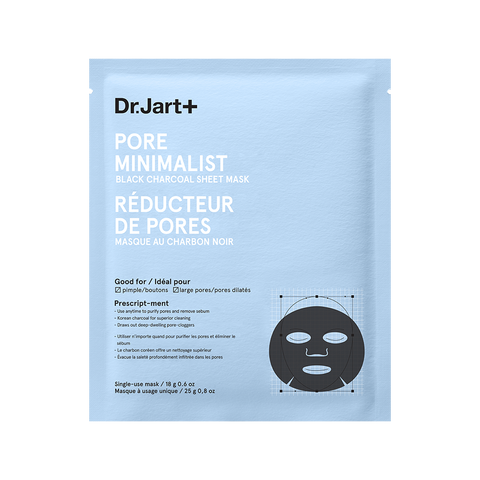 Dr. JART+ PORE MINIMALIST BLACK CHARCOAL MASK