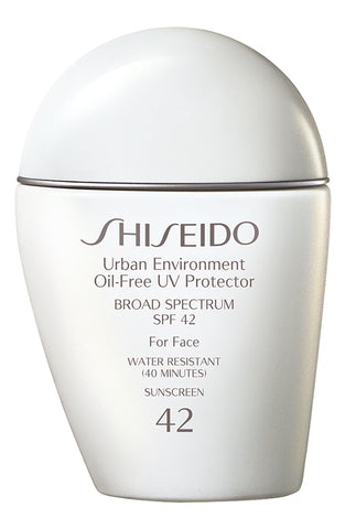Shiseido Urban Environment Oil-Free UV Protector SPF 42 Sunscreen, 50mL - eCosmeticWorld