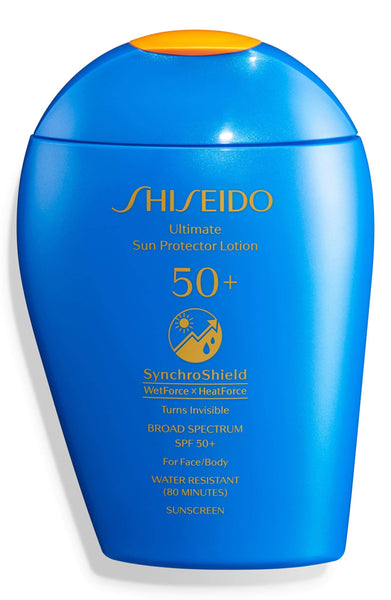 Shiseido Ultimate Sun Protector Lotion SPF 50+ Sunscreen, 50mL - eCosmeticWorld