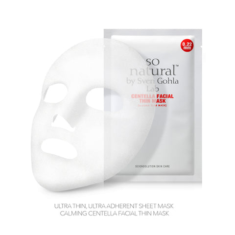 SO NATURAL CENTELLA FICIAL THIN MASK