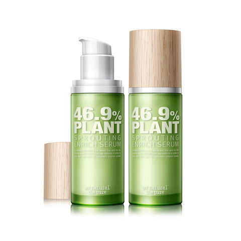 SO NATURAL 46.9% PLANT SPROUTING ENRICH SERUM