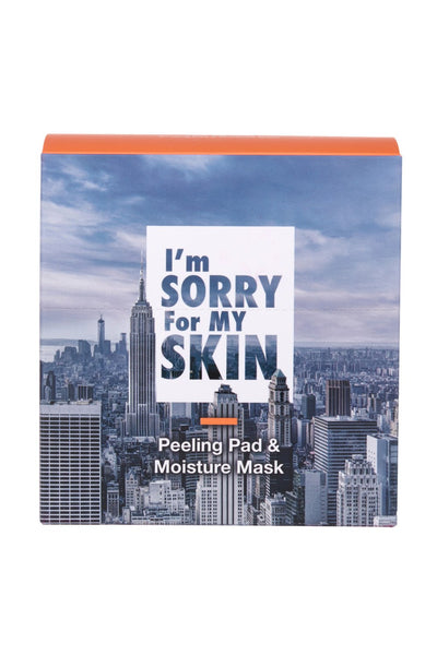 I'm SORRY For MY SKIN City Skin Care Peeling Pad & Moisture Mask Pack - eCosmeticWorld
