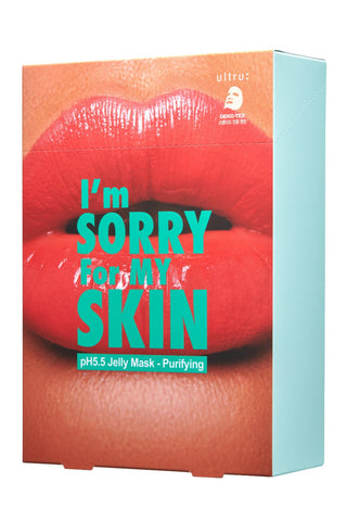 I'm SORRY For MY SKIN pH5.5 Jelly Mask Pack - Purifying