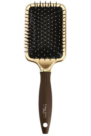 URBAN SALON PRO - Square PADDLE BRUSH Gold