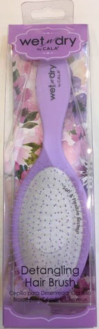 WET-N-DRY HAIR BRUSH-Purple