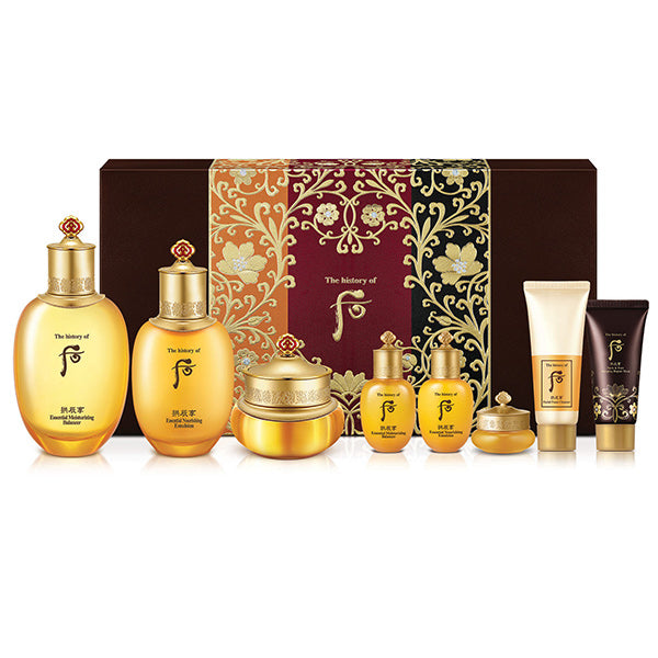 The History of Whoo Gongjinhyang Royal Set
