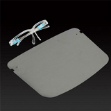 Face Shield With Glasses Reusable Washable Protection Cover One Size