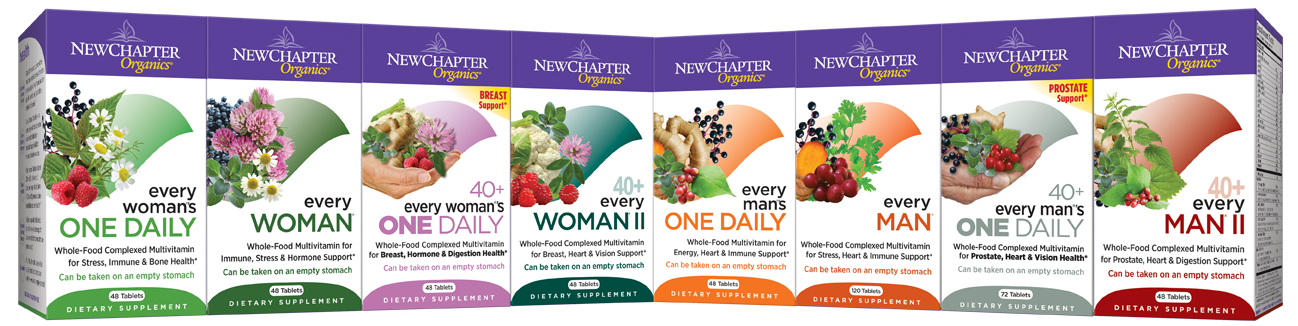Save 30% on New Chapter Products... a Force for Good...