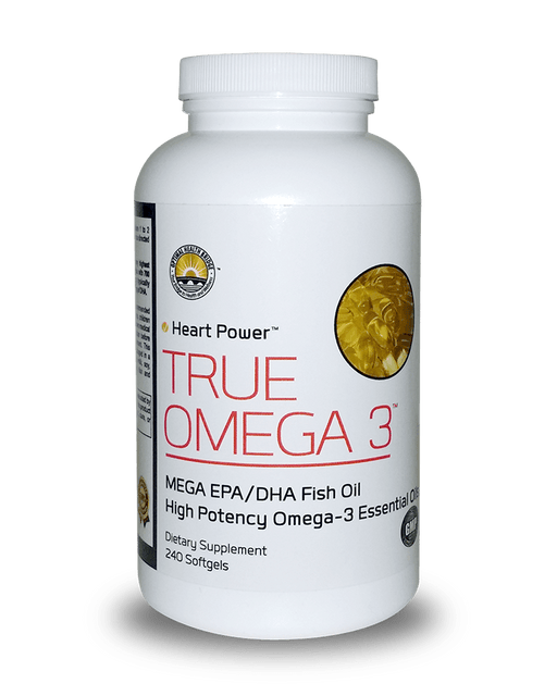True Omega 3 Large Bottle