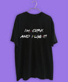 I'M CURVY AND I LIKE IT POLERA NEGRA