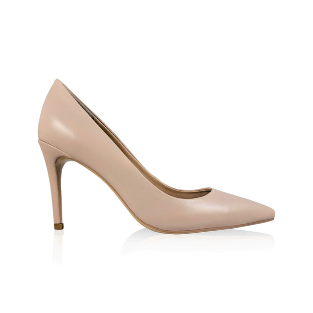 No Compromise Comfortable Leather Stiletto Pump (Limited Quantity)