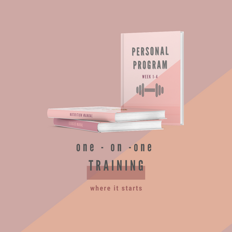 1-ON-1 TRAINING + COURSE