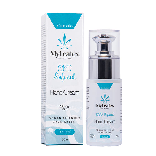 HAND CREAM CBD 200MG (50ML)