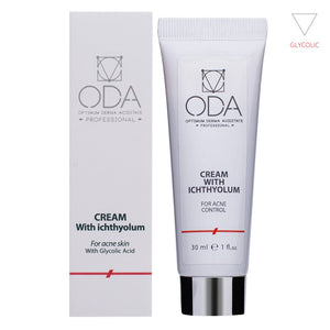 CREAM WITH ICHTHYOL, FOR ACNE SKIN (30ML)