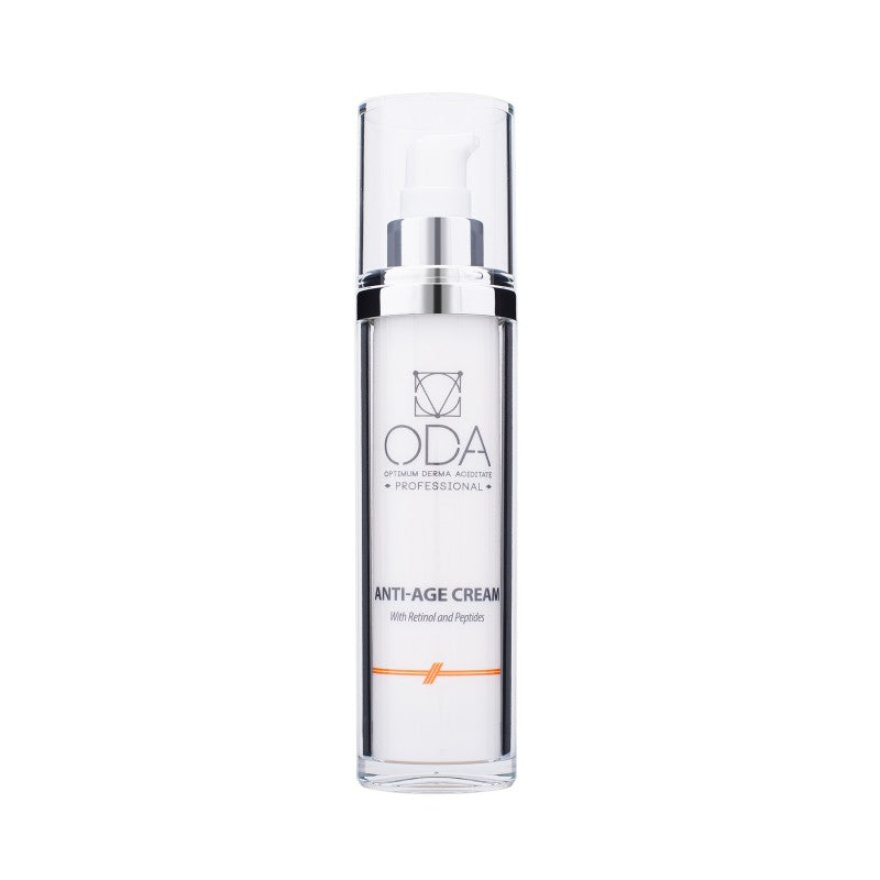 ANTI-AGE CREAM - REVITALIZING FORMULA WITH RETINOL AND PEPTIDES (50ML)