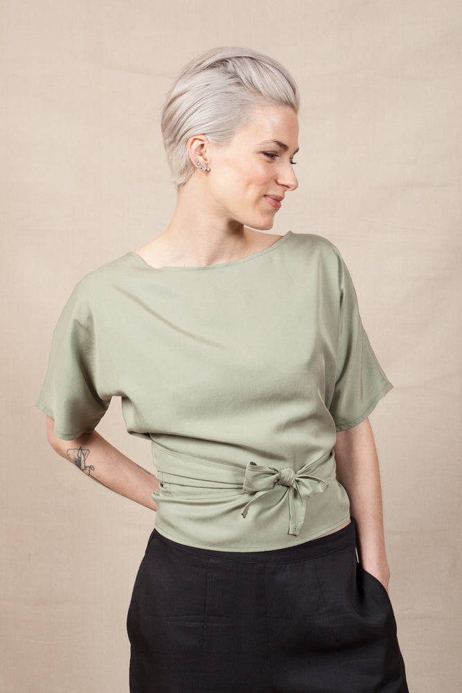 THE WRAP - Sage Green