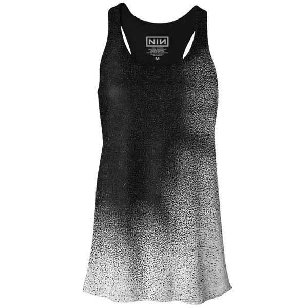 SOLAR FLARE WOMENS TANK - NINE INCH NAILS