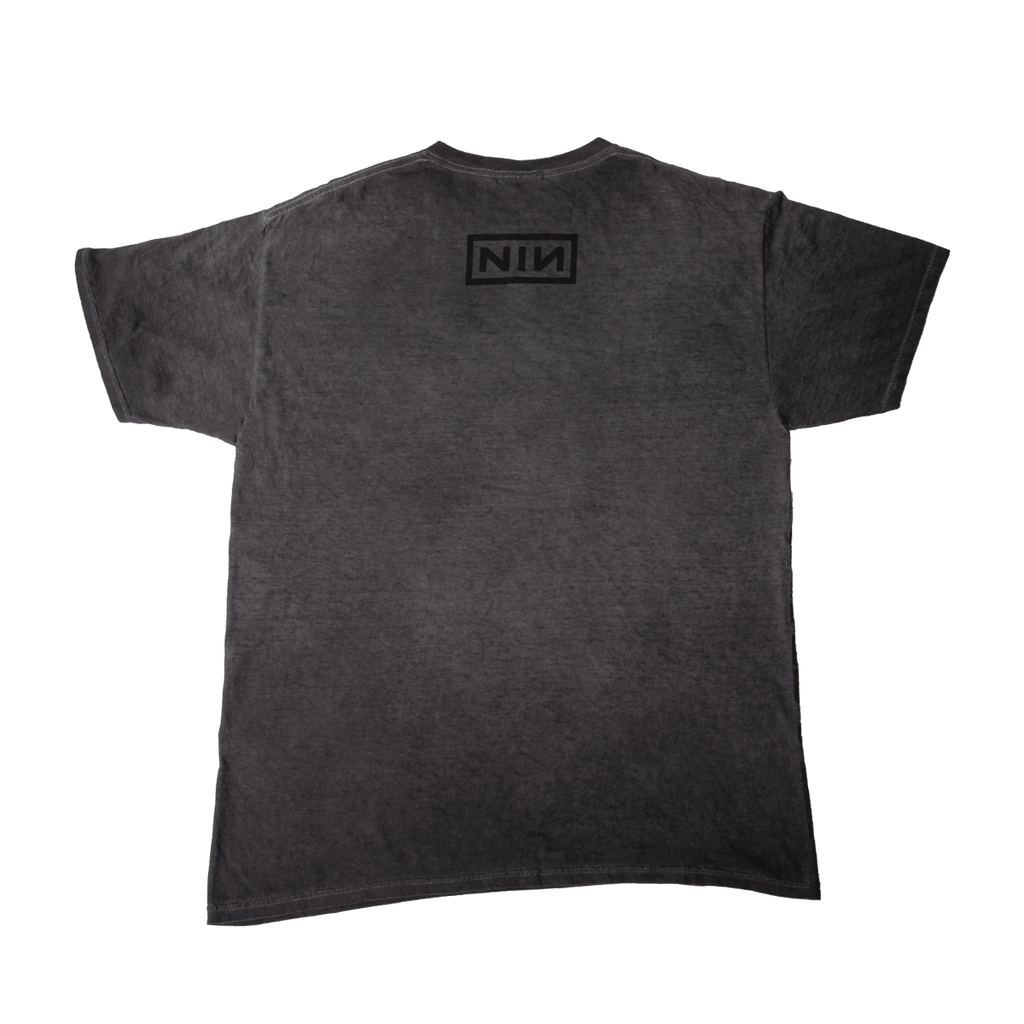 CHIP OIL WASH TEE - NINE INCH NAILS