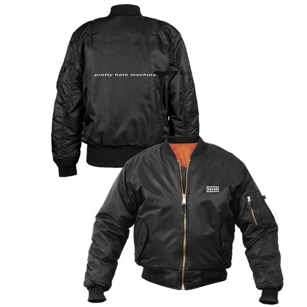 PRETTY HATE MACHINE FLIGHT JACKET - NINE INCH NAILS