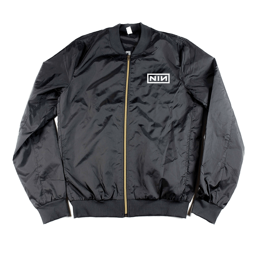 LOGO BOMBER JACKET - NINE INCH NAILS